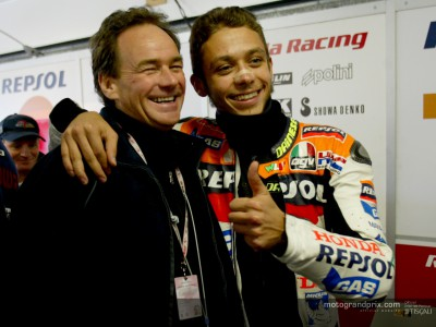 Rossi remembers a boyhood idol