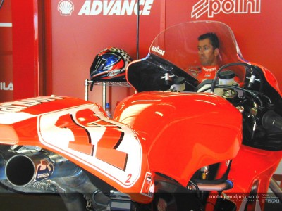Ducati Marlboro and Pramac Honda join MotoGP rivals at Catalunya