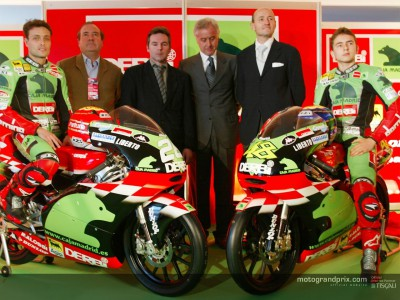 Derbi Racing team launch all Spanish affair in the World Championships