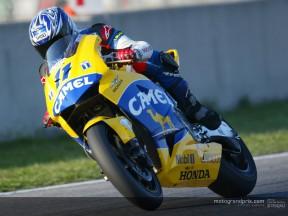 Ukawa acelera en el tramo final del Test de MotoGP en Catalunya  y se sitúa segundo