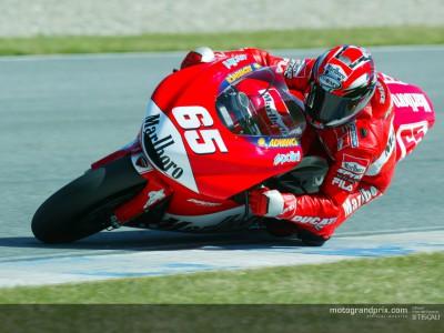 Images from the Repsol Honda and Ducati Marlboro teams at Catalunya