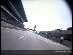 Ride with Capirossi on his record-breaking lap of Catalunya