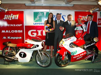 Metis Gilera Racing Team make official presentation in Italy