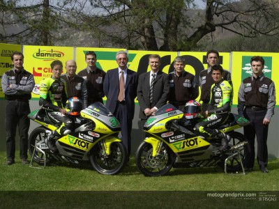 Scot Racing make presentation in Italy