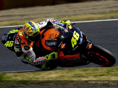 Rossi ends winter on a high note after final IRTA test in Suzuka