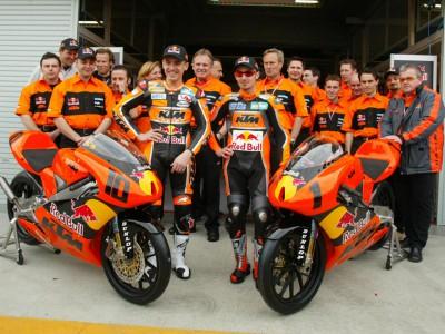 KTM pose les premières bases de son aventure MotoGP