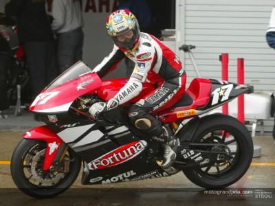Abe replaces Melandri at Fortuna Yamaha