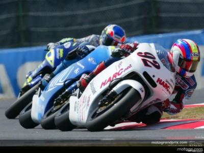 Sensacional victoria de Poggiali en su debut en 250cc