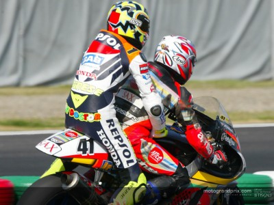 Perspectives from the top three finishers from the first MotoGP race