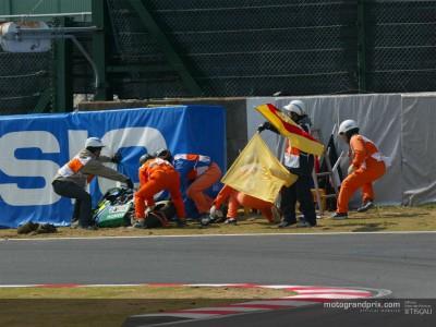 Aggiornamento sull'incidente di Kato a Suzuka