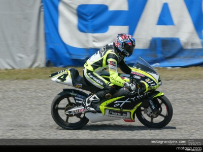 Changement en 125cc après l'appel de Cecchinello