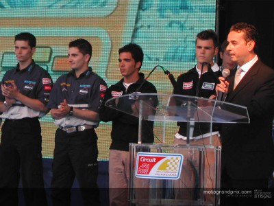 Team Aspar make presentation in Valencia