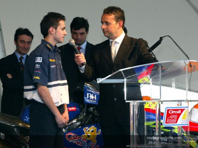 Team Aspar make presentation in Valencia
