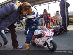 The name of Daijiro Kato lives on in pocket-bikes