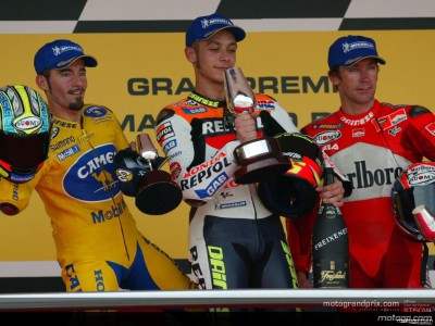 Quotes from the first three riders in the MotoGP race
