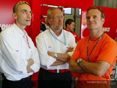 F1バリチェロ、MotoGPのスピードに驚嘆!