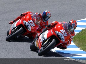 Ducati return to the track in Jerez