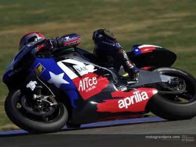Aprilia end Barcelona tests