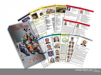 Who Works in MotoGP 2003 on sale now