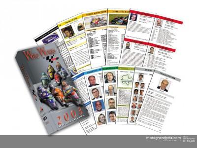 E' in vendita Who Works in MotoGP 2003