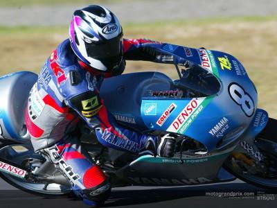 Naoki Matsudo prova a Brno dopo aver conquistato il miglior risultato dell'anno a Le Mans