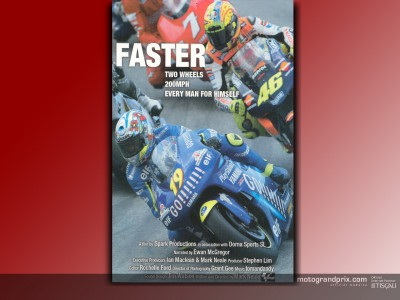 Trailer for the MotoGP movie `Faster´