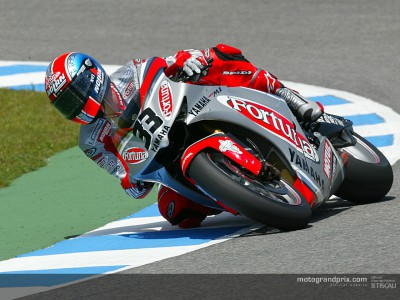 Marco Melandri looking ahead to his home GP while sampling some Motocross