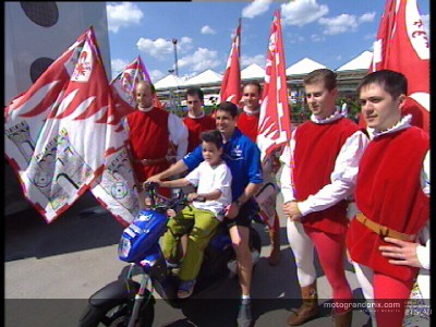 Mugello festivities kick off with victory for Riders for Health