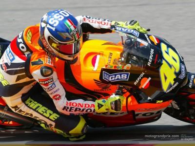 Rossi se hace con la pole en Mugello