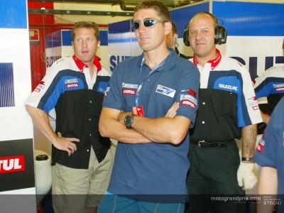 Roberts a spectator at Catalunya