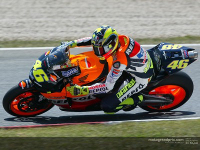 Riders beaten by the heat at Montmeló