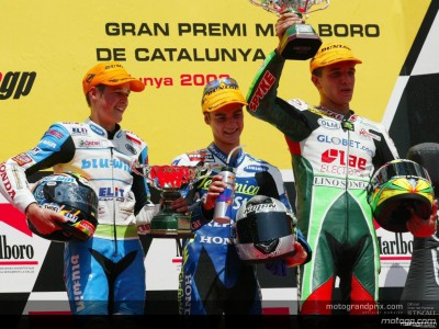 Perspectives from the top three riders after the 125 GP in Catalunya