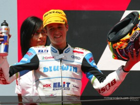Thomas Luthi: the surprise package from the GP Marboro de Catalunya