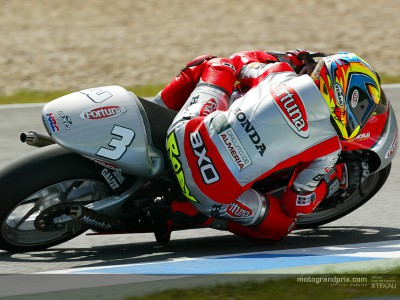 Roberto Rolfo on his way to Assen