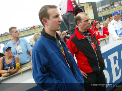 NASCAR star Kurt Busch enjoys MotoGP at Assen