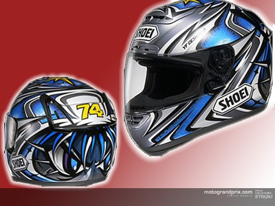New Daijiro Kato replica helmet to arrive in Europe and USA soon