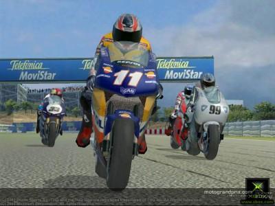 Xbox用『MotoGP URT2 Online Challenge』が発売
