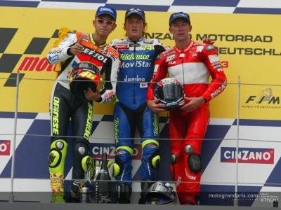 Words from the top three after the MotoGP race at the Sachsenring