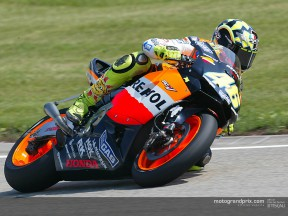 Rossi and Biaggi lament unsuccessful outings in Germany