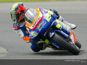 Nieto and Elías: Another race spent charging through the pack at the Sachsenring