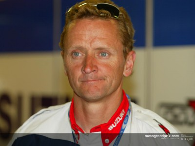 Kevin Schwantz visits MotoGP for the second time in ´03 and lends his views