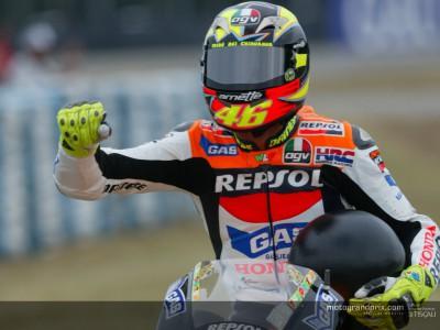 Les 'travaux forcés' de Rossi, l'une de ses meilleures facéties...?