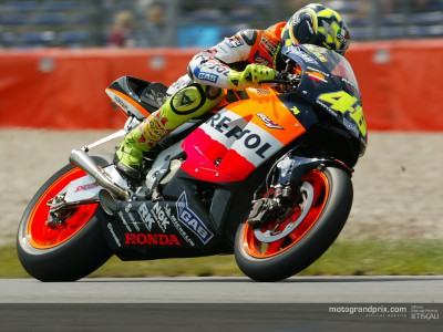 Rossi ready to threaten Doohan's records this weekend