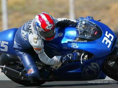 WCM a fini un grand–prix sur la nouvelle moto et essaye d´oublier une saison difficile