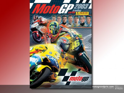 Panini launch MotoGP trading card collection