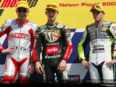 Declaraciones desde el podio de 250 cc en Rio