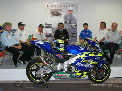 Daijiro Kato honoured as a MotoGP Legend in Motegi