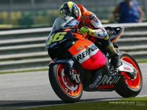 Rossi llega al Gran Premio Marlboro de Malasia en busca del título