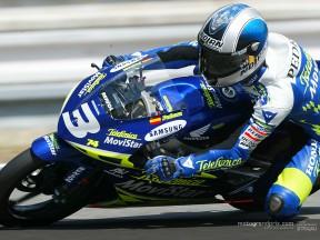 Pedrosa, muy cerca de la gloria en el Campeonato de 125cc