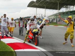 Los mejores momentos de la temporada de Valentino Rossi